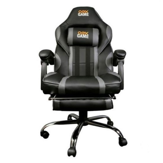 Cadeira Gamer OEX Chair GC300 - Preto e Cinza