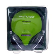 Fone de Ouvido Multilaser Headphone Superbass PH053 - Preto