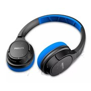 Headphone Philips ActionFit Bluetooth SH402 - Preto/Azul