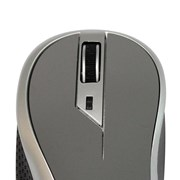 Mouse Sem Fio New Link Wave MO112 - Cinza