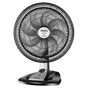 Ventilador Mondial Turbo Force 8 40cm VT-CR-41-8P NP Preto - 127V